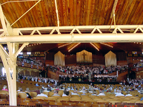 The Great Auditorium, Ocean Grove, NJ, Sunday Service