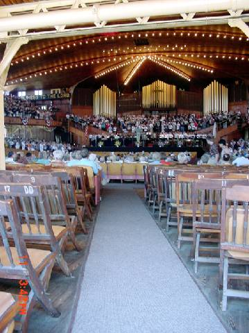 Inside the Great Auditorium, Ocean Grove, New Jersey
