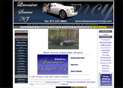 New Jersey Limousine Service - Fancy Limos